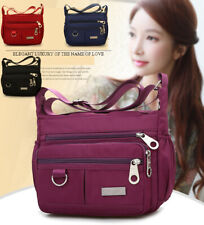 Women Waterproof Single-shoulder Messenger Crossbody Bag Nylon Purse Travel Lady