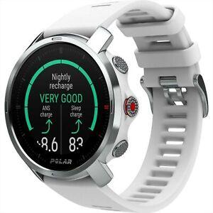 Polar Grit X Quartz Digital Dial White Rubber Strap Smartwatch 90081735