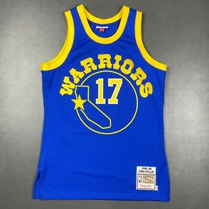 100% Authentic Chris Mullin Mitchell Ness 85 86 Warriors Jersey Size 40 M Mens