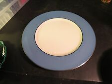 "Lenox Pattern # X305f 10-1/2"" Peacock Blue Dinner Plate"