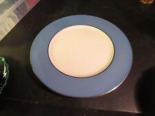 "Lenox Pattern # X305f 10-1/2"" Peacock Blue Dinner Plate"