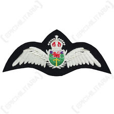 Rhodesian Air Force PILOT WINGS - Quality SRAF Padded Uniform Patch WW2 Repro