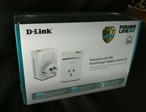 D-Link Powerline AV500 Ethernet over power kit