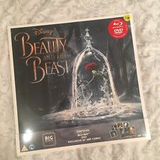 Beauty And The Beast - Big Sleeve Limited Edition, 2 Blu-Ray + DVD + Art Cards