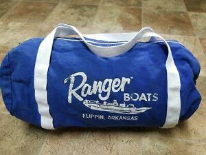 Ranger Boats Small Blue Gear Duffle Bag Vintage Flippin Arkansas
