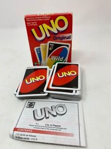 Vintage 2001 Mattel UNO Original Card Game