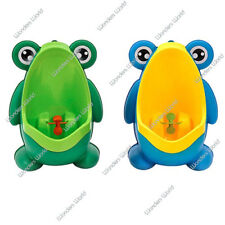 Kids Potty Pee Training Urinal Unit Children Boys Frog Pee Aid Toilet Training