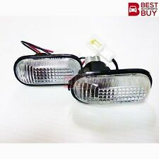 SIDE MARKER LAMP LIGHT + WITH BULB PAIR For 1992 1993 1994 1995 HONDA CIVIC CITY