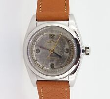 RARE 1939 ROLEX OYSTER SCIENTIFIC DIAL STEEL BUBBLE BACK WRIST WATCH EARLY 2940