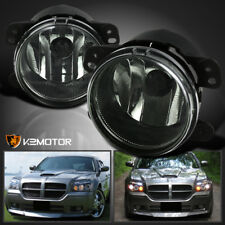 05-10 Chrysler 300 05-08 Magnum Smoke Bumper Driving Fog Lights+H8 Bulb
