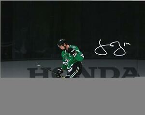 "Jamie Benn Dallas Stars Signed 11"" x 14"" Goal Celebration Spotlight Photo - LE21"