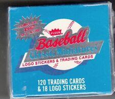 1987 Fleer Baseball Miniatures Factory Sealed Set of 138