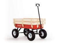 Original Pull wagon Retrowagen retro style all terrain trolley atw truck ride on