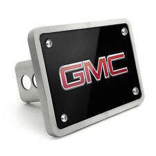 GMC Canyon Black Metal Plate 2 inch Tow Hitch Cover