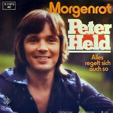 "7"" PETER HELD ex MAMA BETTY'S BAND Morgenrot TELEFUNKEN orig. 1976 NEUWERTIG!"