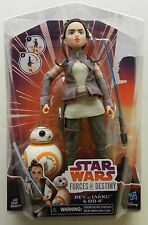 2017 Star Wars Forces of Destiny Rey of Jakku with Bb-8 Adventure Set