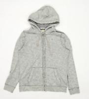 Hollister Mens Size M Cotton Blend Grey Hoodie