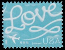 5155 (CF1) Postal Counterfeit Love Skywriting Forever Stamp 2017 MNH - Buy Now