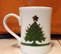 Suzanne Evans Star Christmas Tree Coffee/Tea Mug-Vintage