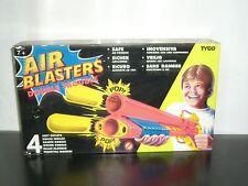 1992 VINTAGE TYCO AIR BLASTERS DOUBLE TROUBLE SOFT GUN PLASTIC TOY MIB #3204