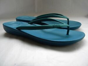 Fitflop Ergonomic Summer Beach Thong Shoes Ladies Sandals Size 9
