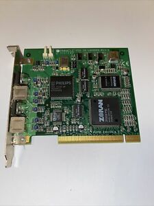 Pinnacle Systems Miro LAHVDRX-PCI-1 S-VIDEO-IN/Out Computer Card Untested