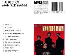 Manfred Mann-CD-The Best of Manfred Mann