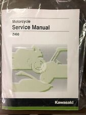 Kawasaki Z400 Abs Service Manual - Fits 2019 - Genuine Kawasaki - Brand New (Fits: Kawasaki)