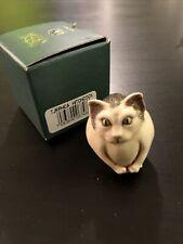 Harmony Kingdom Hitchcock Cat Uk Made Box Figurine Halloween Roly Poly