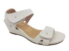 Ladies Shoes Wedges Step On Air Nadia Sandals Size 6-10 Adjustable White Black