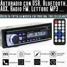 Autoradio macchina Autoradio con bluetooth vivavoce MP3 Radio FM ingresso AUX