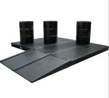NEW CONTAINMENT WORKFLOOR FLOORING RAMP FOR DRUM BUNDS PROTECTION WORK FLOORS