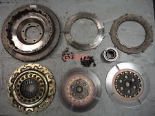 Mazda RX-7 RX7 FC3S OS GIKEN Twin Plate Clutch Kit Flywheel Pressure Plate Discs