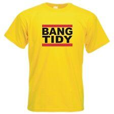 BANG TIDY t-shirt Keith Lemon celebrity juice stag holiday funny tshirt