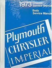 1973 73 Barracuda Road Runner Valiant Chassisbody Manual 2 Volumes