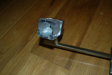 Wickes Brushed Chrome /  Brushed Nickle 3 Glass Bar Spotlight