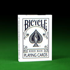 JLCC White & Black Playing Cards - Genuine Bicycle + 2 Gaff Cards!