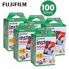 100 PCS Fujifilm Instax Mini Instant White Film for Fuji 9 8 25 50 7s Neo 90 SP1