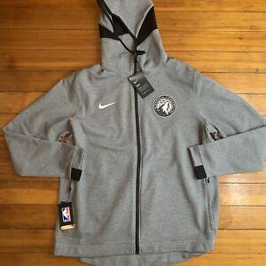 Nike NBA Minnesota Timberwolves Therma Flex Showtime Jacket Size XL Player Issue