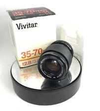 Lens Vivitar 35-70mm 1:2.8-3.8 MC Macro Focusing Zoom 55mm For Yashica/Contax328
