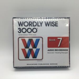 Wordly Wise 3000 2nd Edition Book 7 Audio CD  by Kenneth Hodkinson Free Ship New