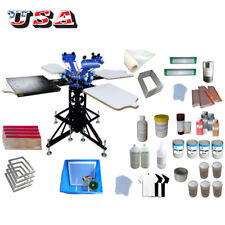 3 Color Screen Printing Materials kit t-shirt Screen Printing Equipment Ink Tool