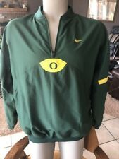 Oregon Ducks Nike 1/4 Quarter Zip Adult Large (L) jacket