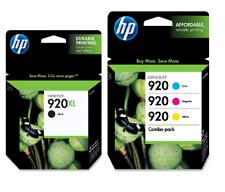 HP Genuine 920XL B/920 C M Y Ink Cartridges HP Officejet 6000, 6500, 7000, 7500