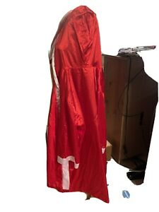TECATE CERVEZA BOXING ROBE Full Size With Sash And Hood! Have Red Or Blue NIP