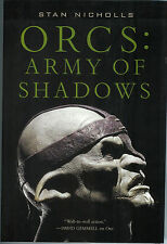 Orcs Army Of Shadows by Stan Nicholls HARDCOVER Rare NEW