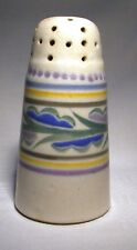 ART DECO POOLE POTTERY FK SUGAR CASTOR / SHAKER/ SIFTER RUTH GOUGH