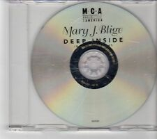 (FP36) Mary J Blige, Deep Inside - 1999 DJ CD