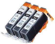 3 Black INK CARTRIDGE for CLI-526 Canon Pixma MG5250 MG5350 IP4850 IP4950 MG6220