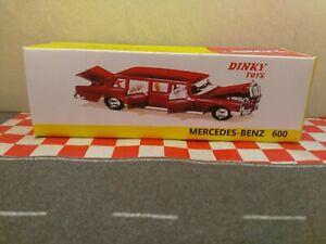 Dinky Toys Mercedes Benz   No128   600  Lemo  car EMPTY REPRO BOX only NO CAR
